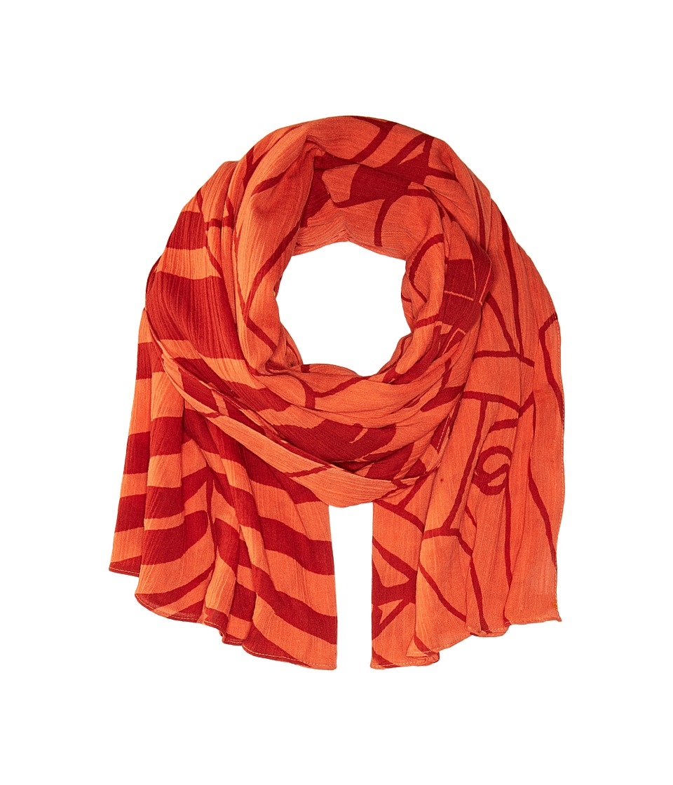 Liebeskind - S1179550 Cotton Scarf (Reef Coral Coast Jungle) Scarves