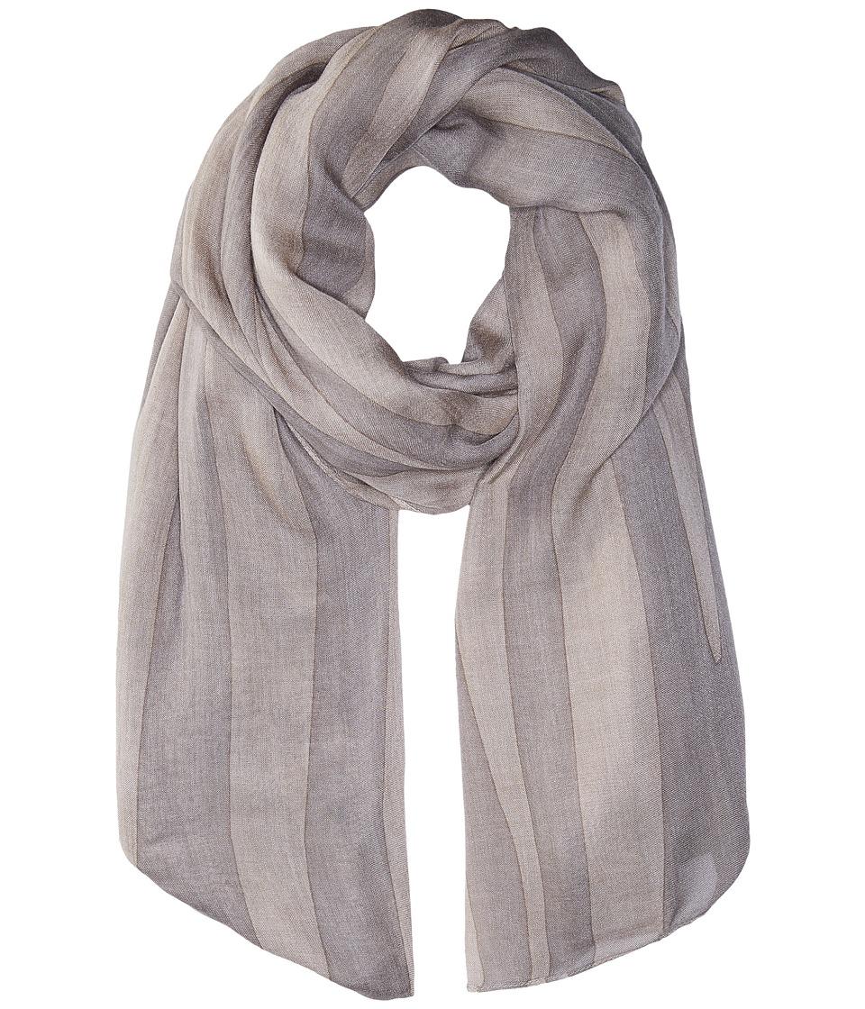 Liebeskind - S1179510 Modal Scarf (Elephant Grey Zebra) Scarves