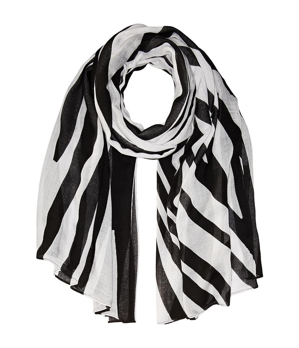 Liebeskind - S1179510 Modal Scarf (Nairobi Black Zebra) Scarves