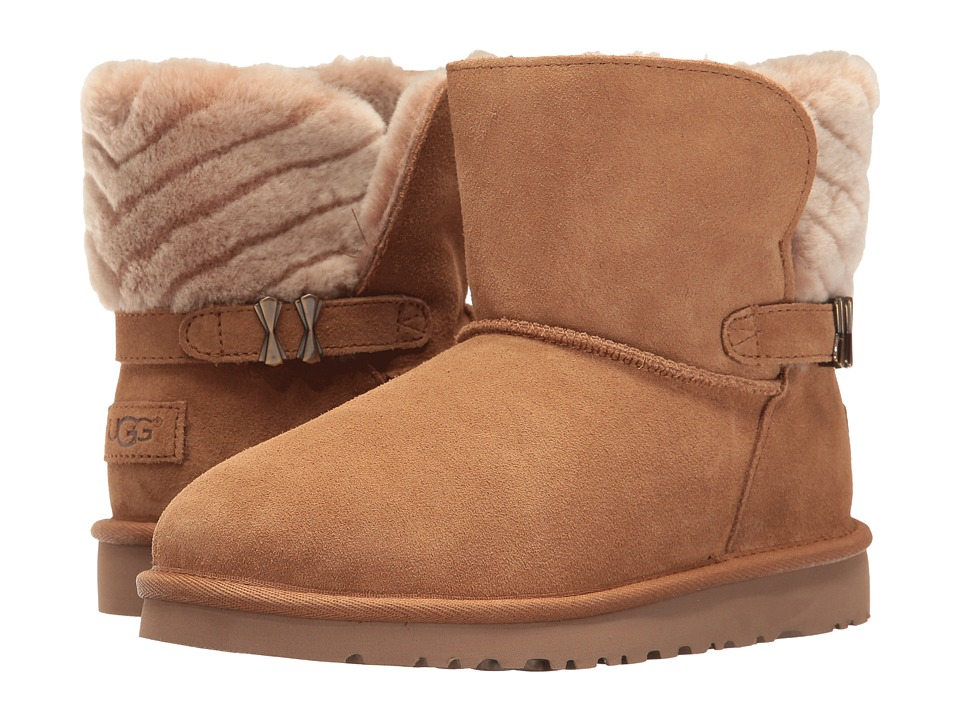 UGG Kids Analia (Big Kid) (Chestnut) Girls Shoes