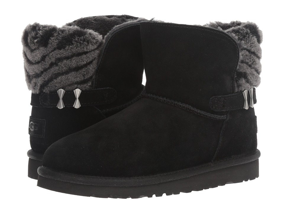 UGG Kids Analia (Big Kid) (Black) Girls Shoes