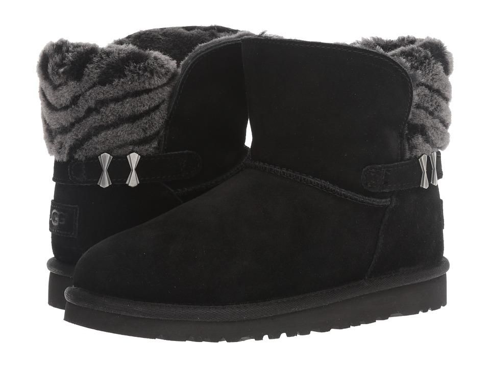 UGG Kids - Analia (Big Kid) (Black) Girls Shoes
