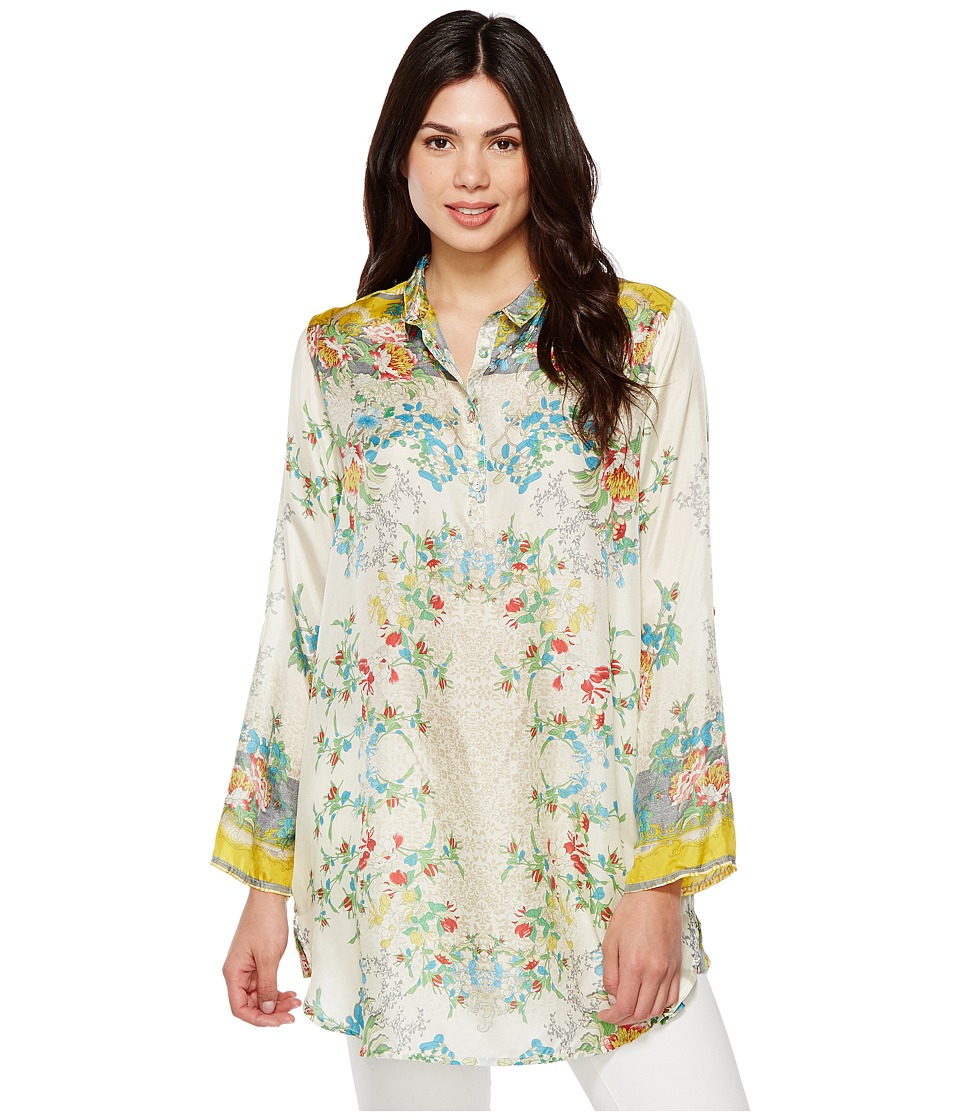Johnny Was - Vintage Floral Tunic (Multi) Women's Blouse