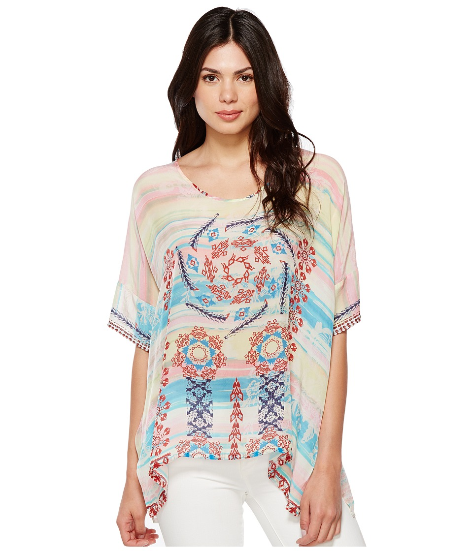 Johnny Was - Bay Dolman Poncho (Multi A) Women's Clothing