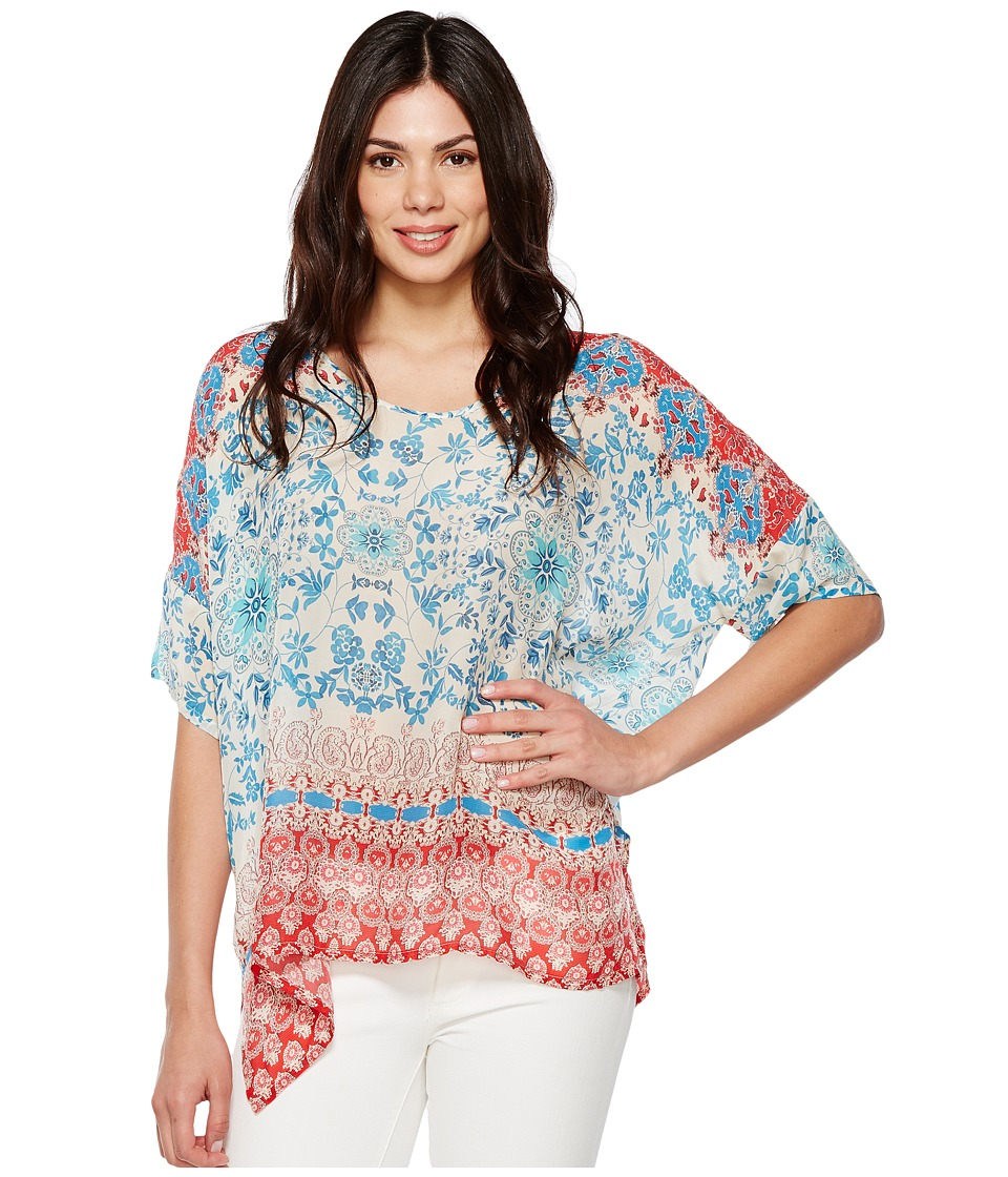 Johnny Was - Bay Dolman Poncho (Multi B) Women's Clothing
