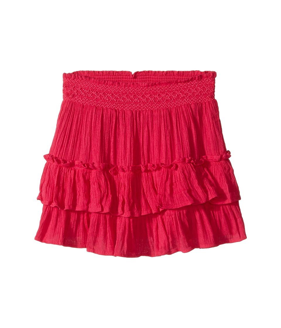 Polo Ralph Lauren Kids - Tiered Skirt (Toddler) (Hibiscus) Girl's Skirt