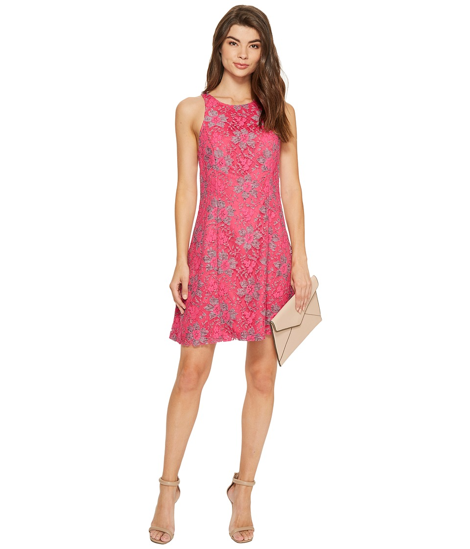 kensie - Blossom Lace Dress KS7K9593 (Party Pink Combo) Women's Dress