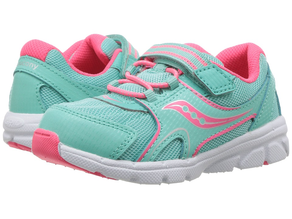 Saucony Kids - Baby Vortex (Toddler/Little Kid) (Turquoise) Girl's Shoes
