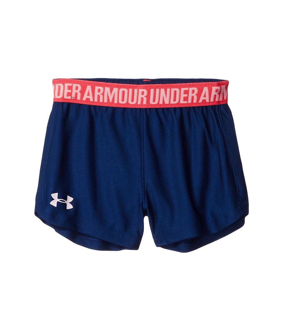 Under Armour Kids - Play Up Shorts (Little Kids) (Blackout Navy/White) Girl's Shorts