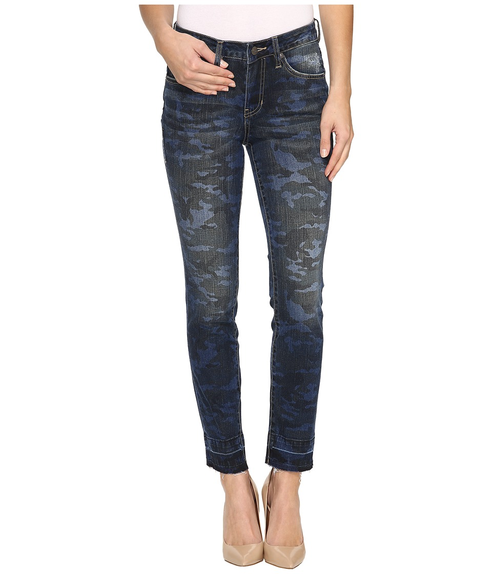 Jag Jeans Rochelle Slim Ankle Jeans in Camo Denim (Camo) Women