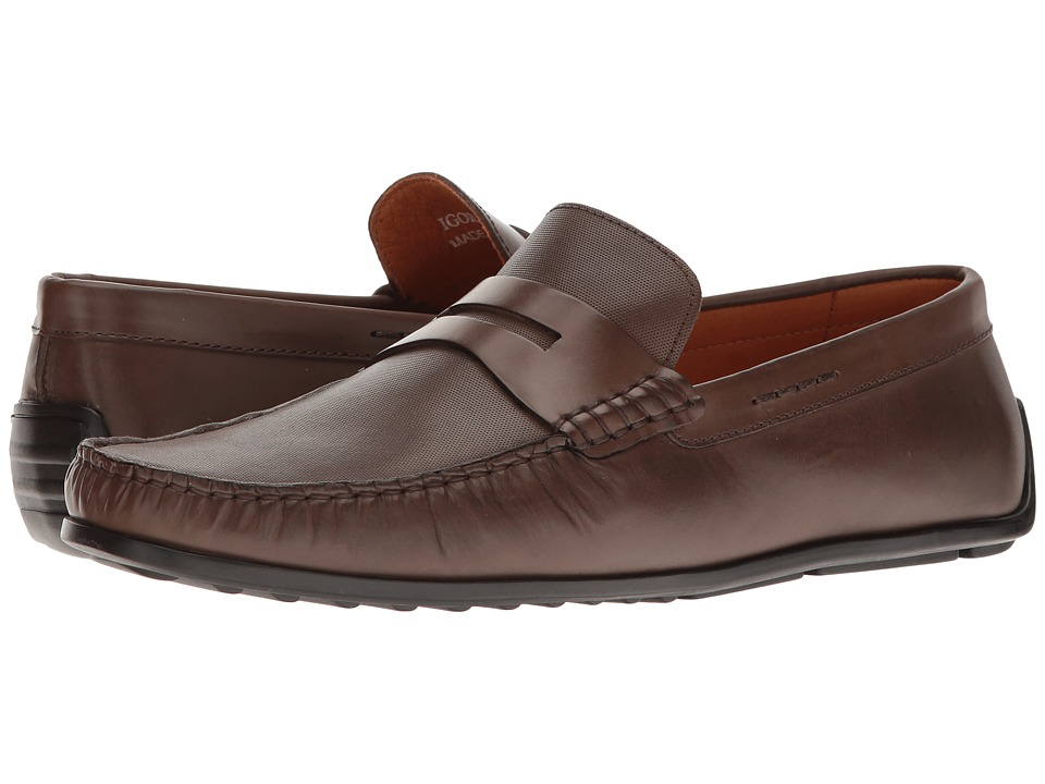 Donald J Pliner - Igor (Brown) Men's Shoes
