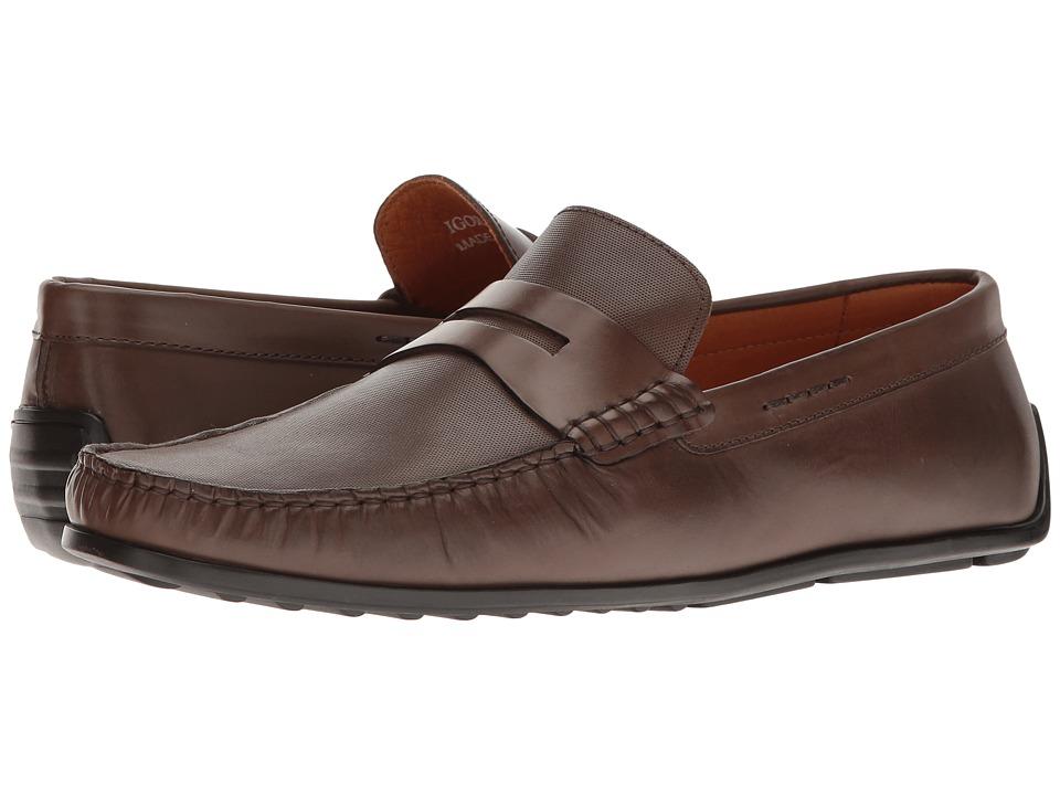 Donald J Pliner - Igor (Brown) Men's Shoes