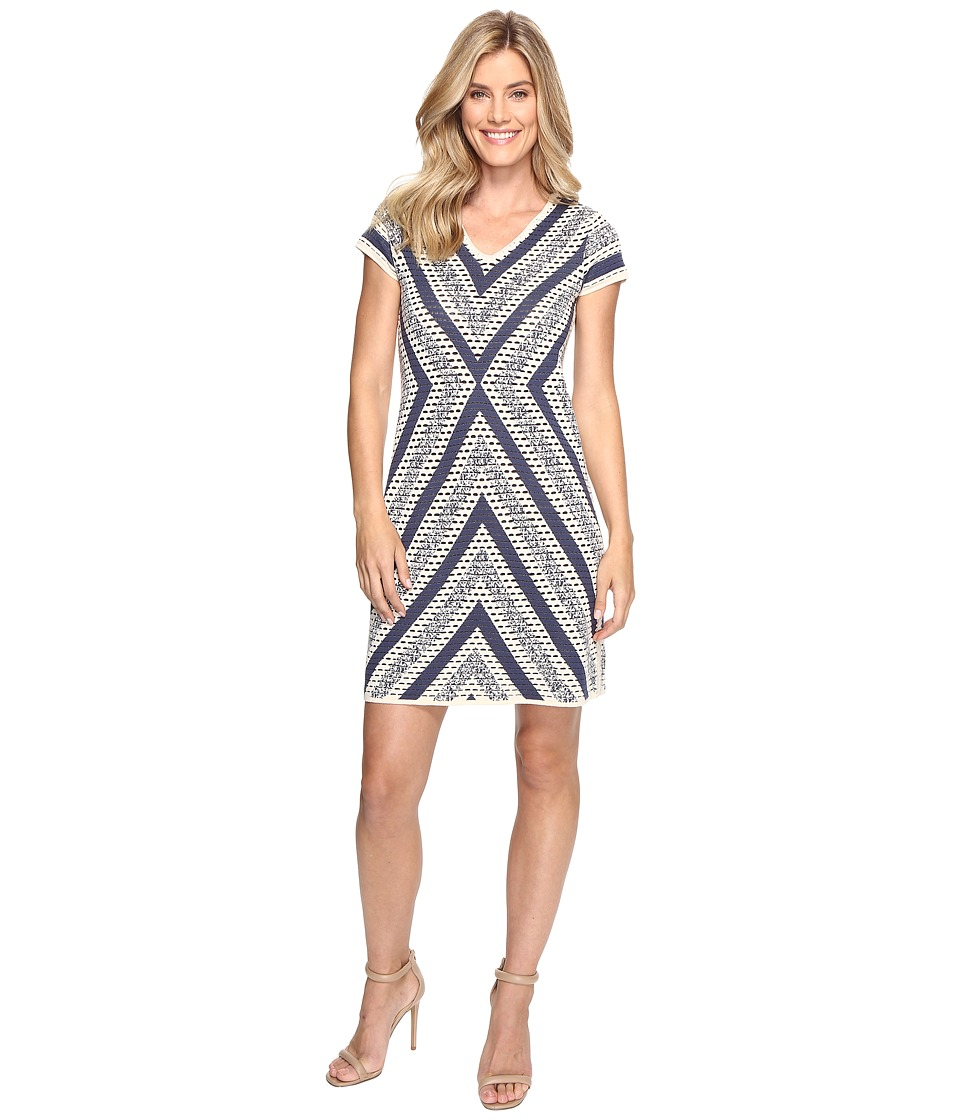 NIC+ZOE - Spanish Stripe Dress (Multi) Women's Dress
