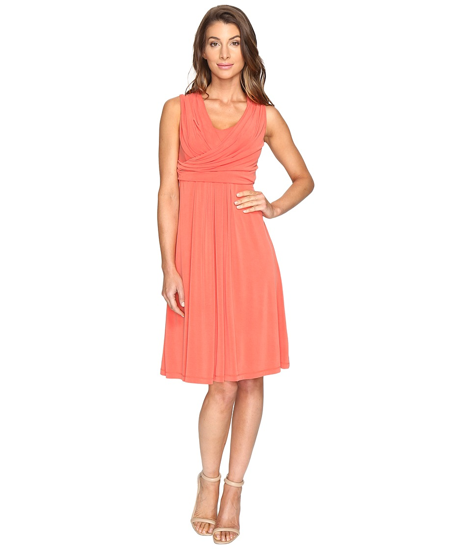NIC+ZOE - City Retreat Dress (Cinnabar) Women's Dress