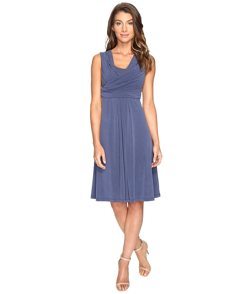NIC+ZOE - City Retreat Dress (Indigo) Women's Dress