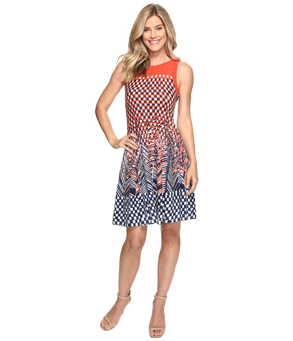 NIC+ZOE Fiore Twirl Dress (Multi) Women