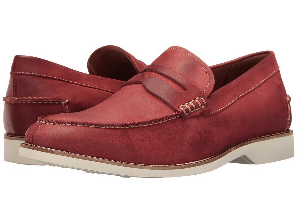 Donald J Pliner - Ponce (Crimson) Men's Shoes