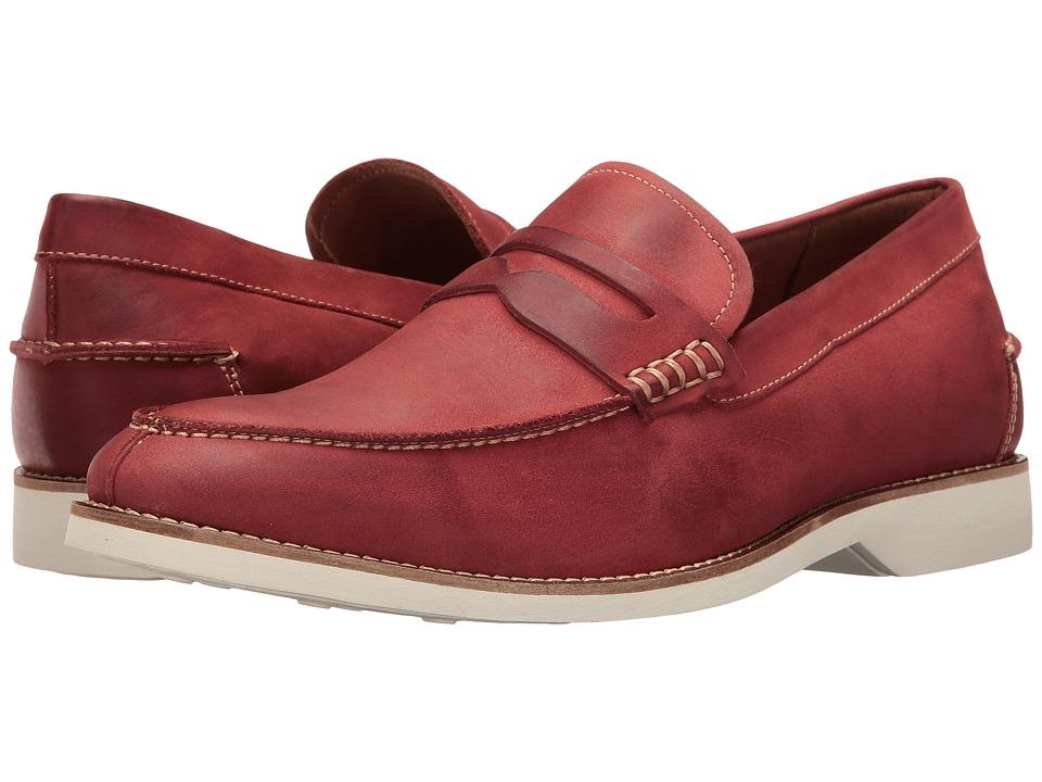 Donald J Pliner - Ponce (Crimson) Men's Shoes