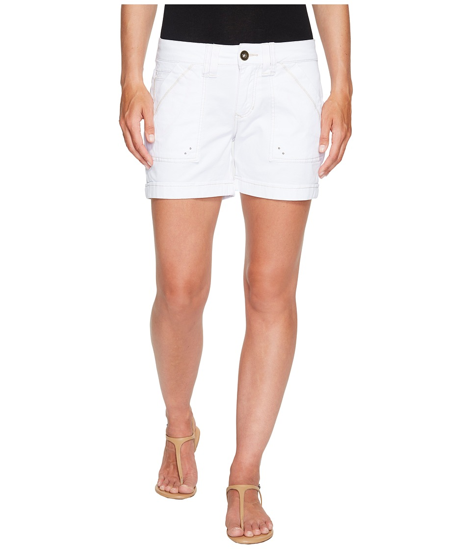 Jag Jeans - Izzy Shorts in Bay Twill (White) Women's Shorts