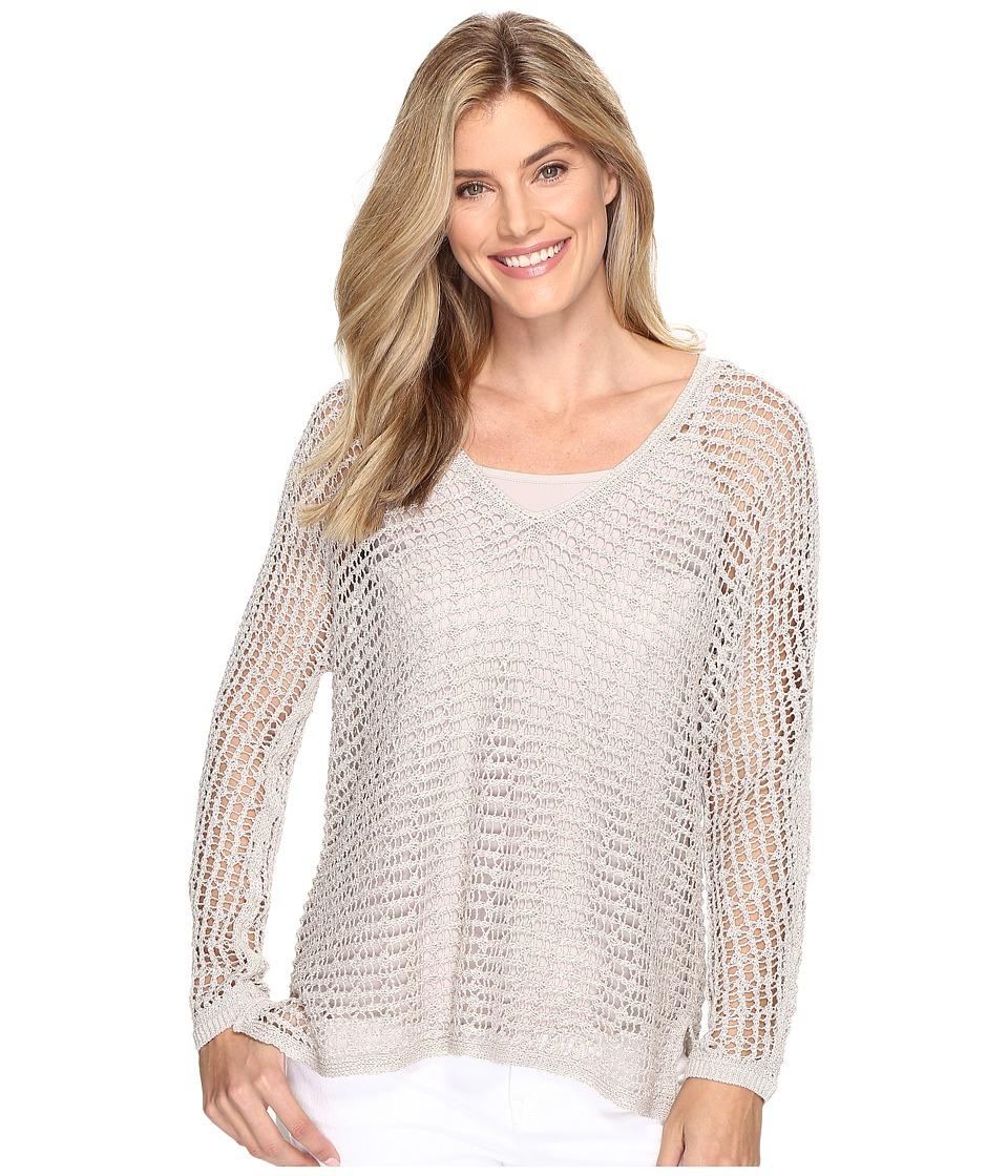 NIC+ZOE - Sun Catcher Top (French Linen) Women's Sweater