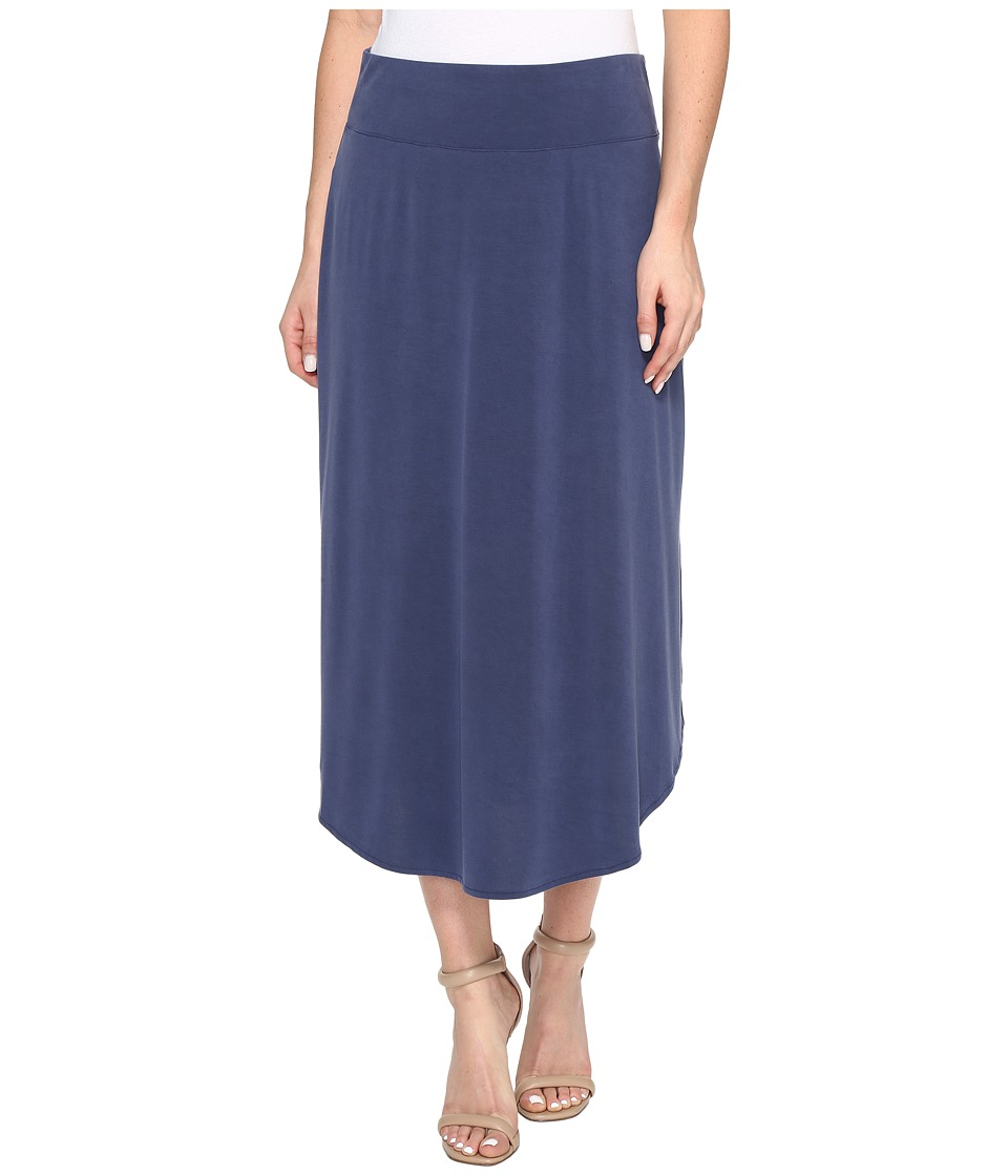 NIC+ZOE - City Retreat Skirt (Indigo) Women's Skirt