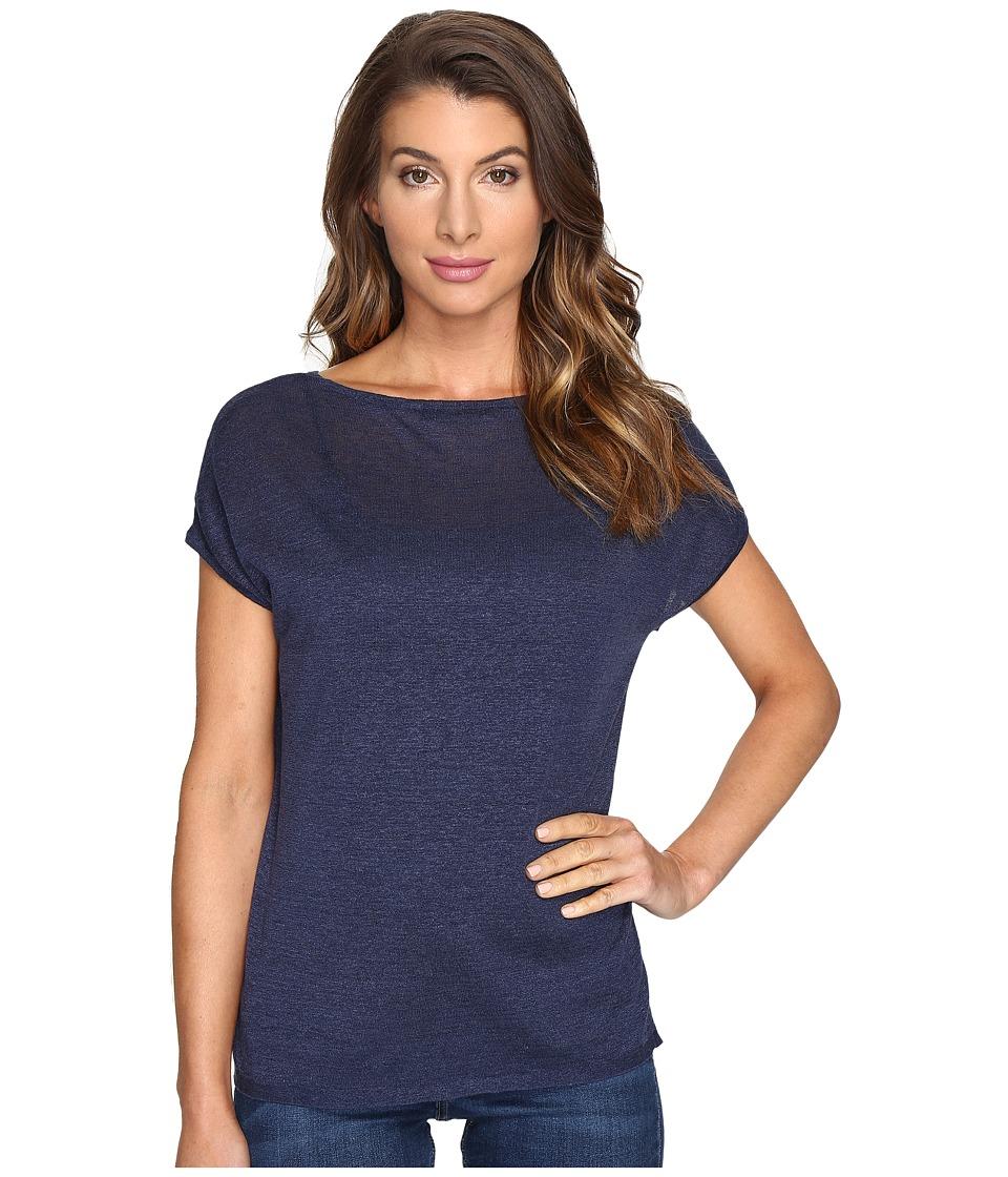 NIC+ZOE - Every Day Tissue Tee (Indigo) Women's T Shirt