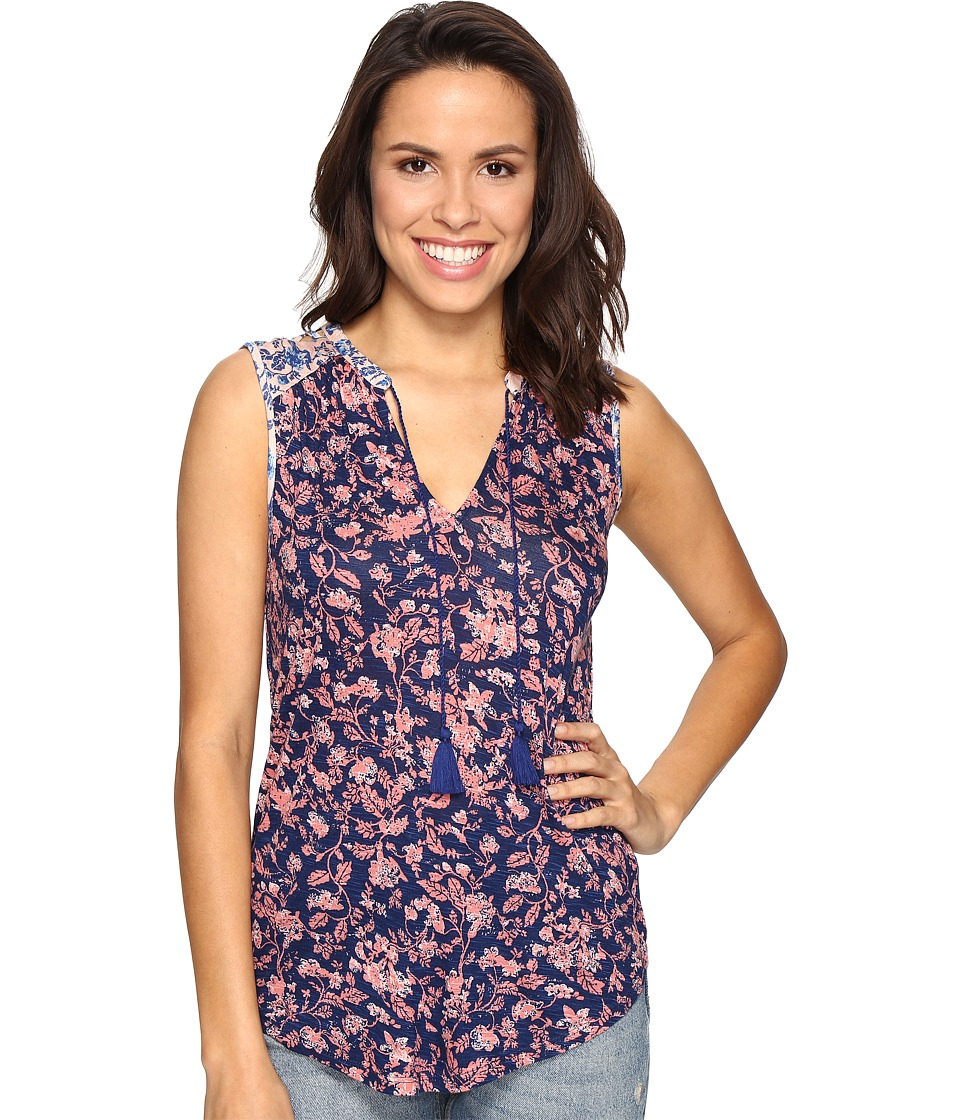 Lucky Brand - Mixed Floral Tank Top (Multi) Women's Sleeveless
