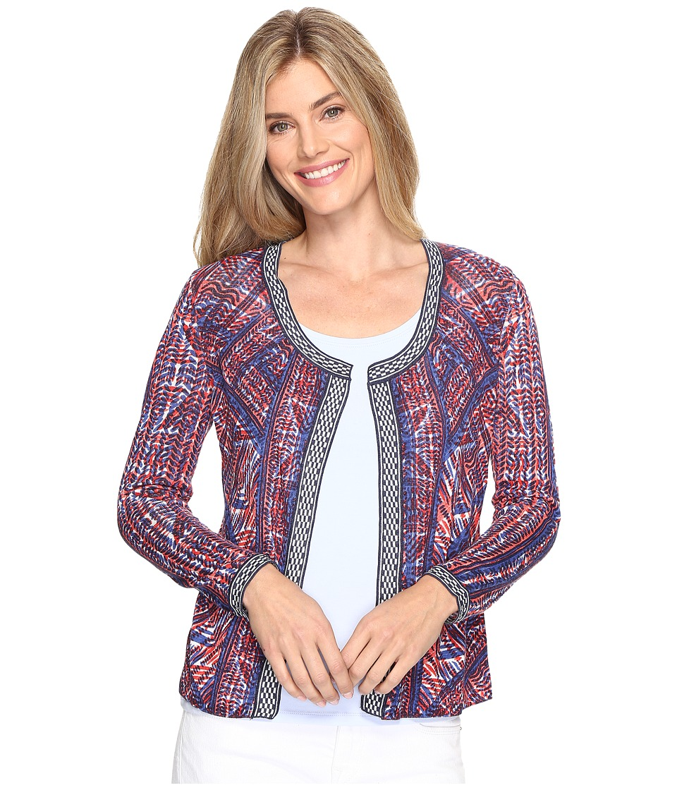 NIC+ZOE - Picasso Cardy (Multi) Women's Sweater