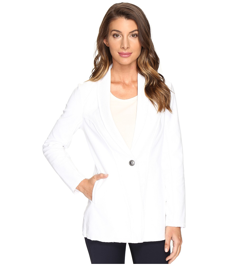 NIC+ZOE - Knit Denim Jacket (Paper White) Women's Jacket