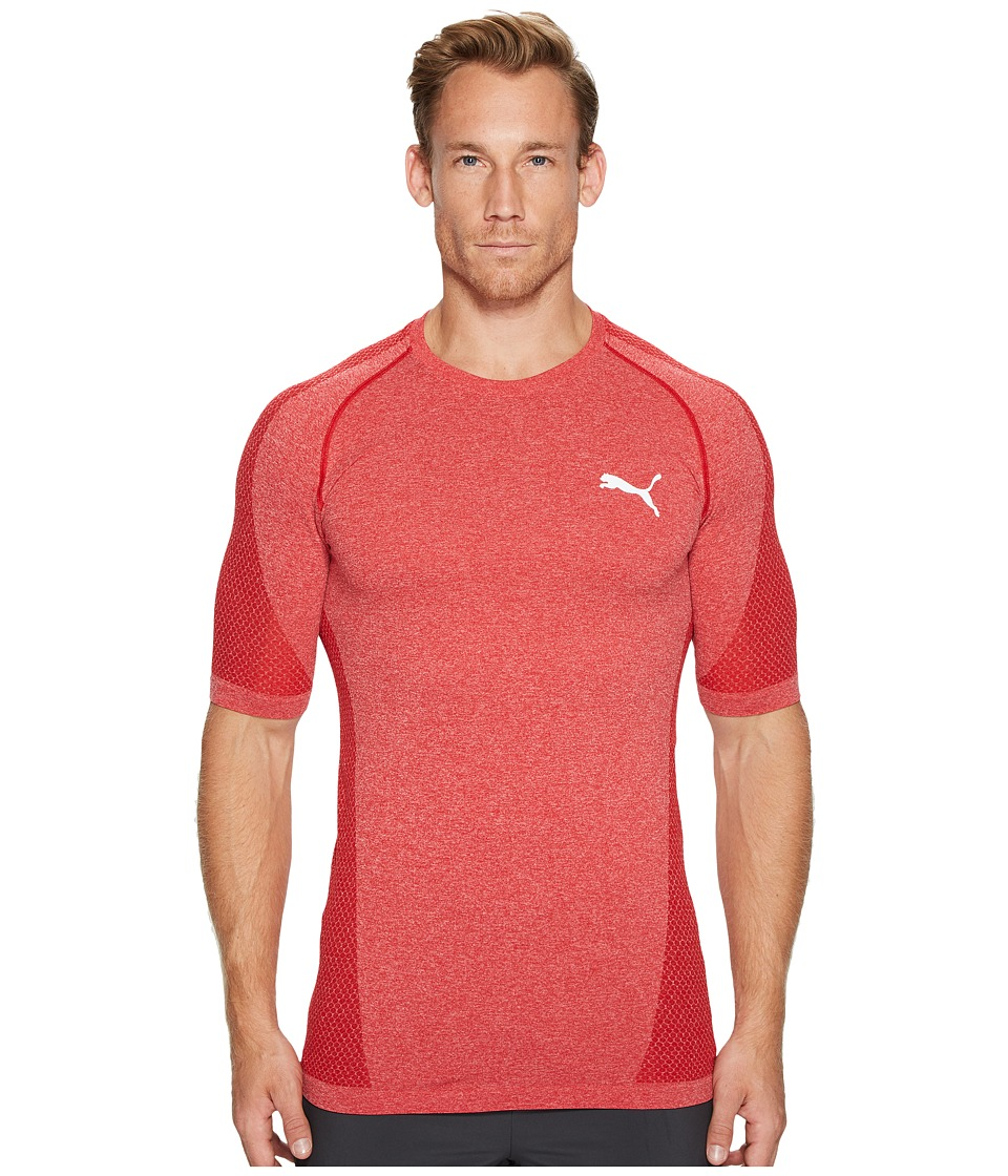 PUMA - evoKNIT Better Tee (Toreador Heather) Men's T Shirt