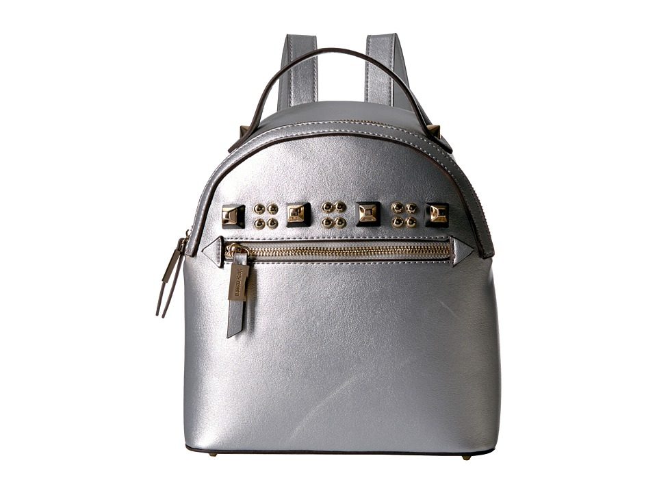 Steve Madden - Barmand Backpack (Silver) Backpack Bags