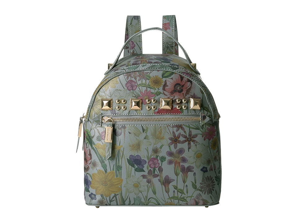 Steve Madden Barmand Backpack (Blue Flower) Backpack Bags