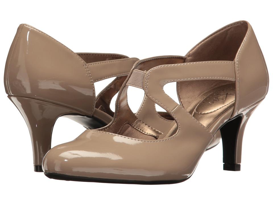 LifeStride - Parker (Stone Patent) Women's Shoes