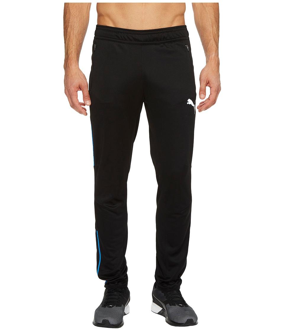 PUMA - Flicker Pants (Puma Black Electric Lemonade) Men's Casual Pants