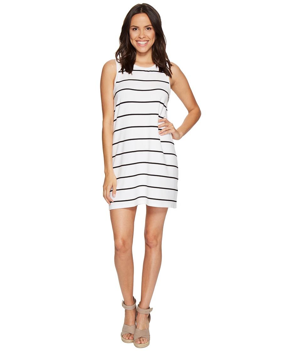 BB Dakota - Avigail French Terry Dress (White) Women's Dress