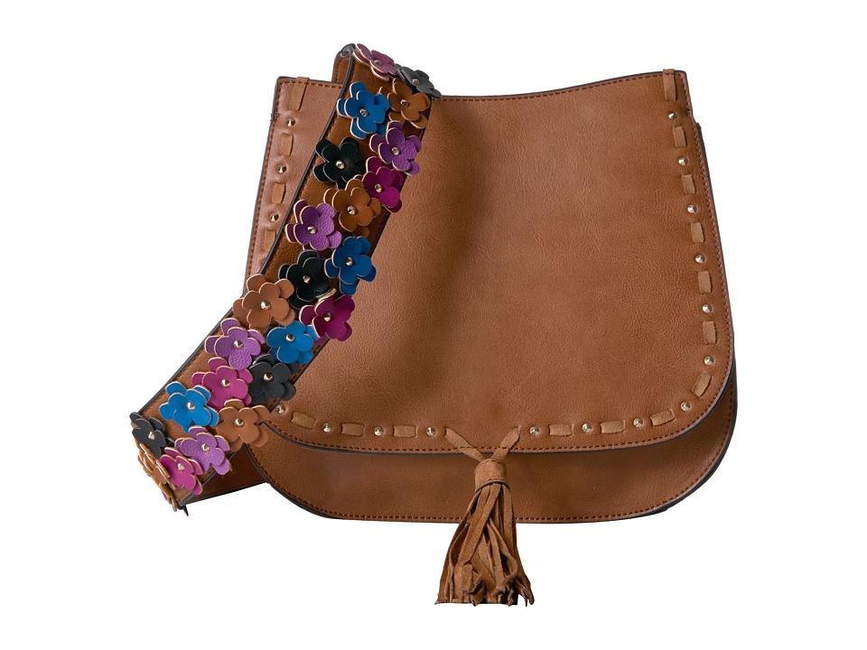 Steve Madden - Bselena Saddle Bag (Cognac) Bags