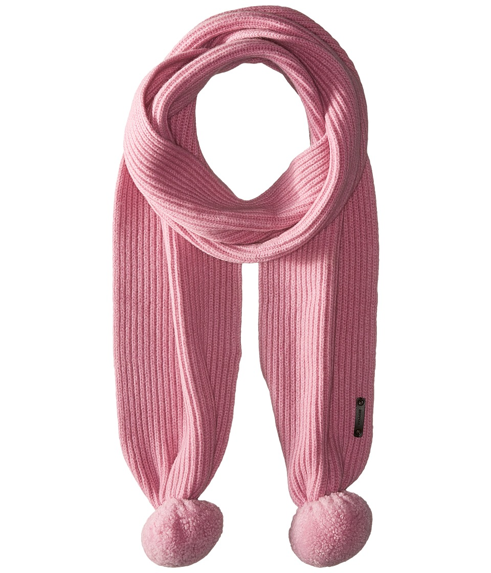 COACH - Sheepskin Pom Scarf (Marshmallow) Scarves