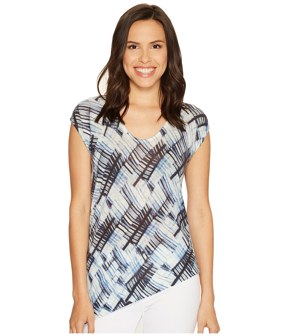 NIC+ZOE - Stitch Mix Top (Multi) Women's Clothing