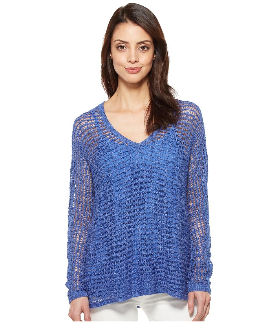 NIC+ZOE - Sun Catcher Top (Poolside) Women's Sweater