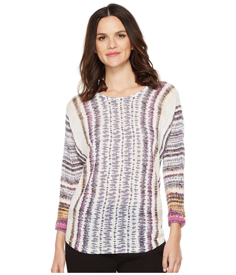 NIC+ZOE - Bright Beat Top (Multi) Women's Clothing