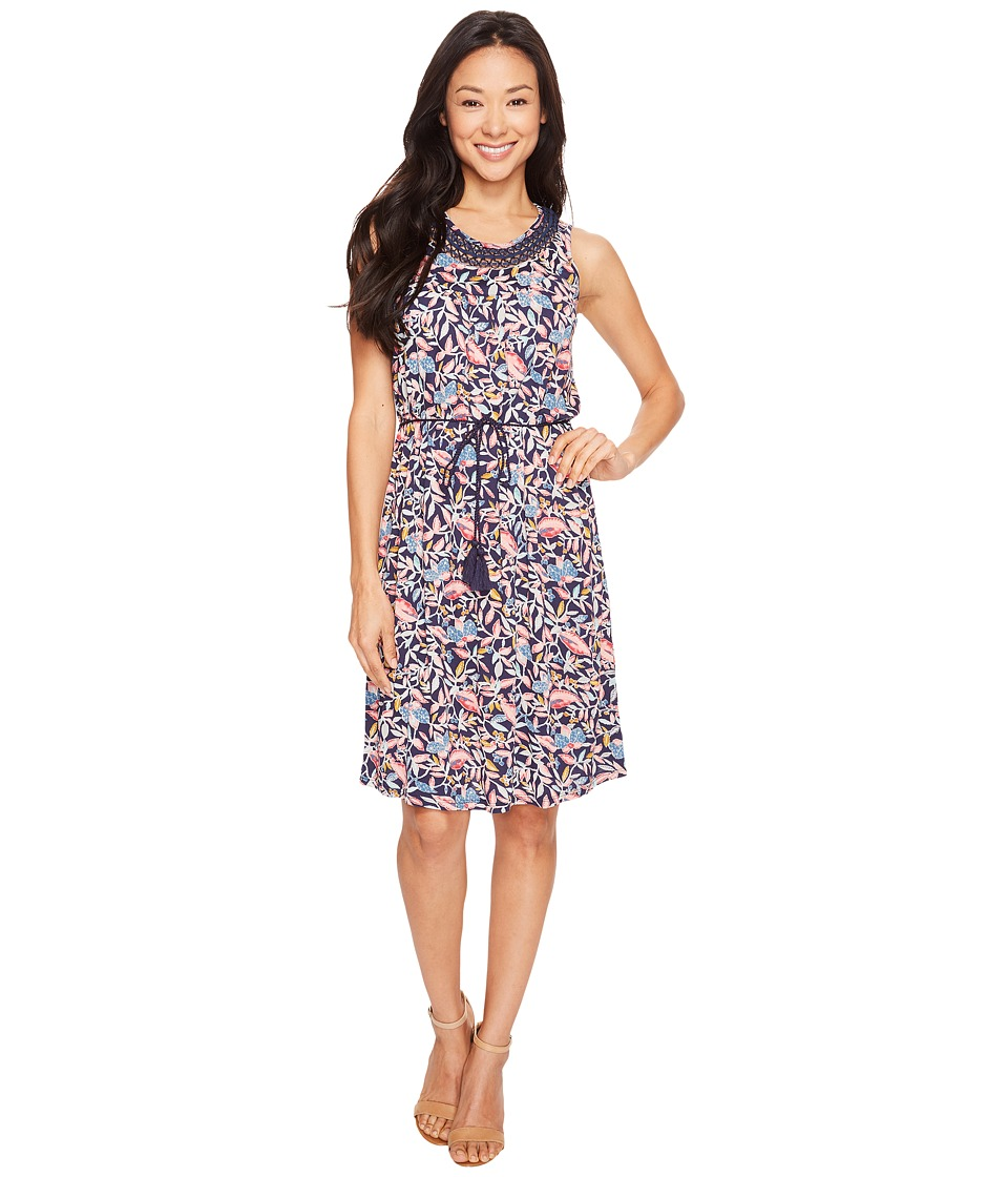 Lucky Brand - Inset Lace Dress (Multi) Women's Dress