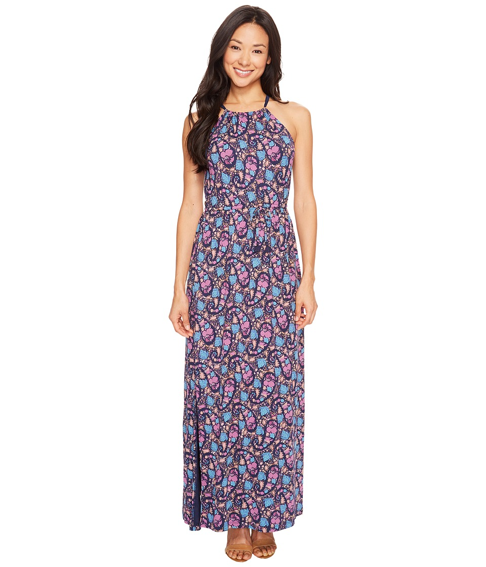 Lucky Brand - Party Paisley Maxi Dress (Multi) Women's Dress