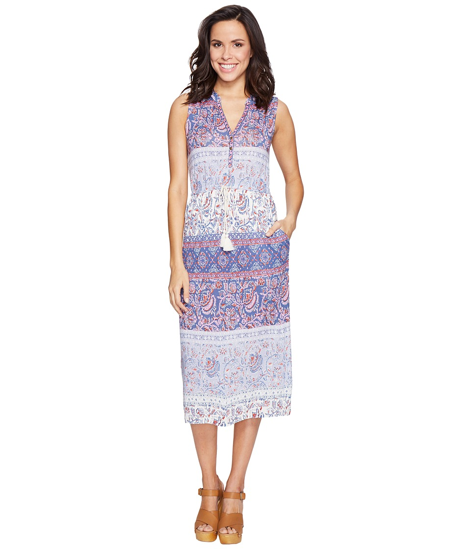 Lucky Brand - Floral Mixed Print Dress (Multi) Women's Dress