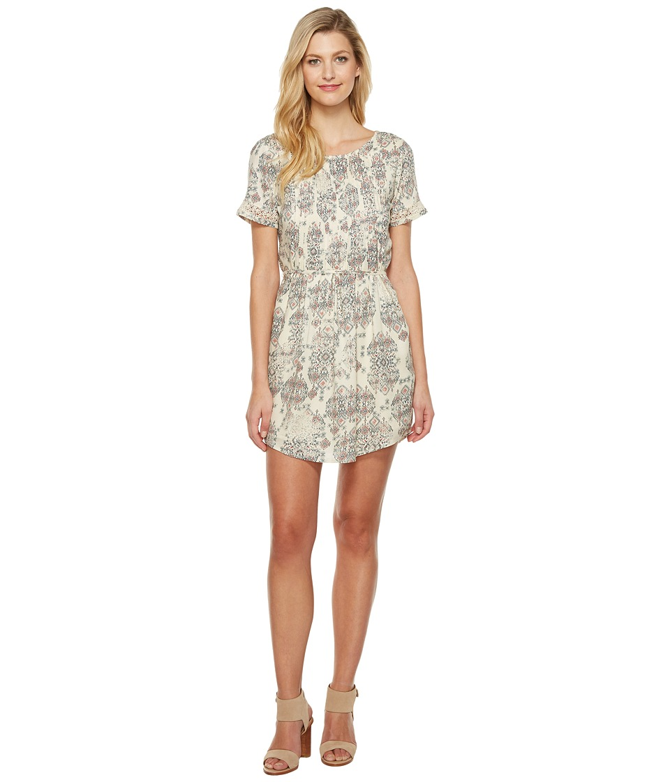 Lucky Brand - Jojo Dress (Natural Multi) Women's Dress