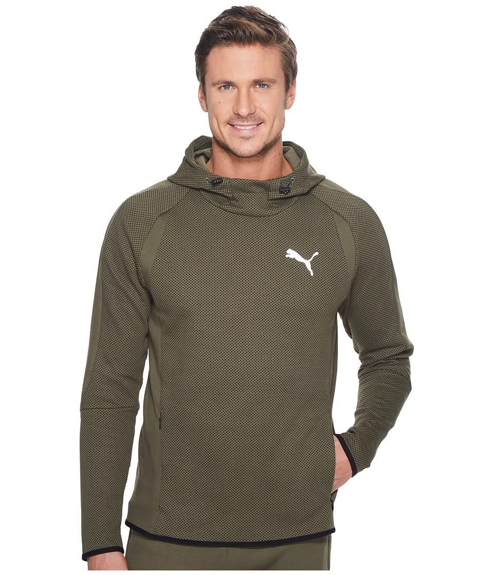 PUMA - Evostripe Ultimate Hoodie (Olive Night) Men's Sweatshirt