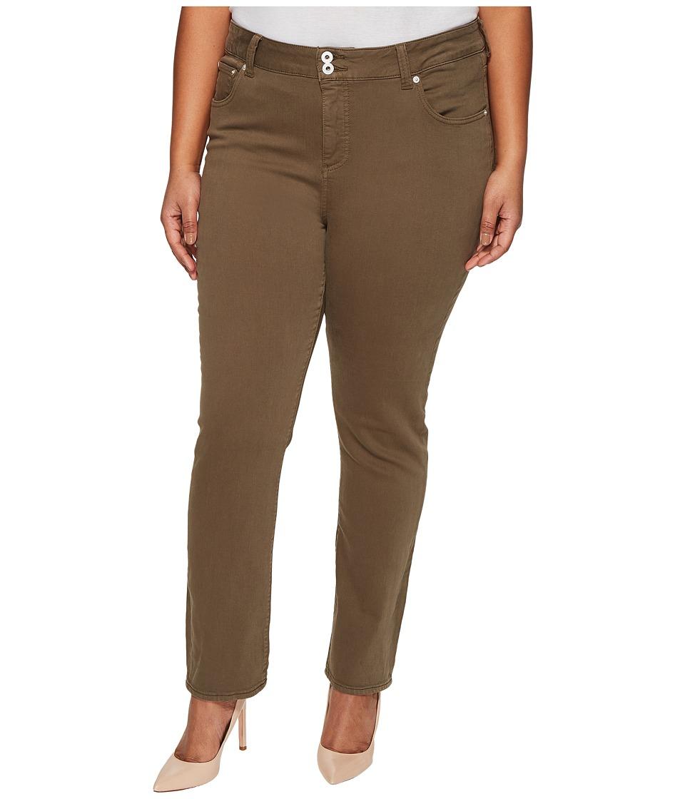 Lucky Brand - Plus Size Emma Straight Jeans in Desert Ivy (Desert Ivy) Women's Jeans