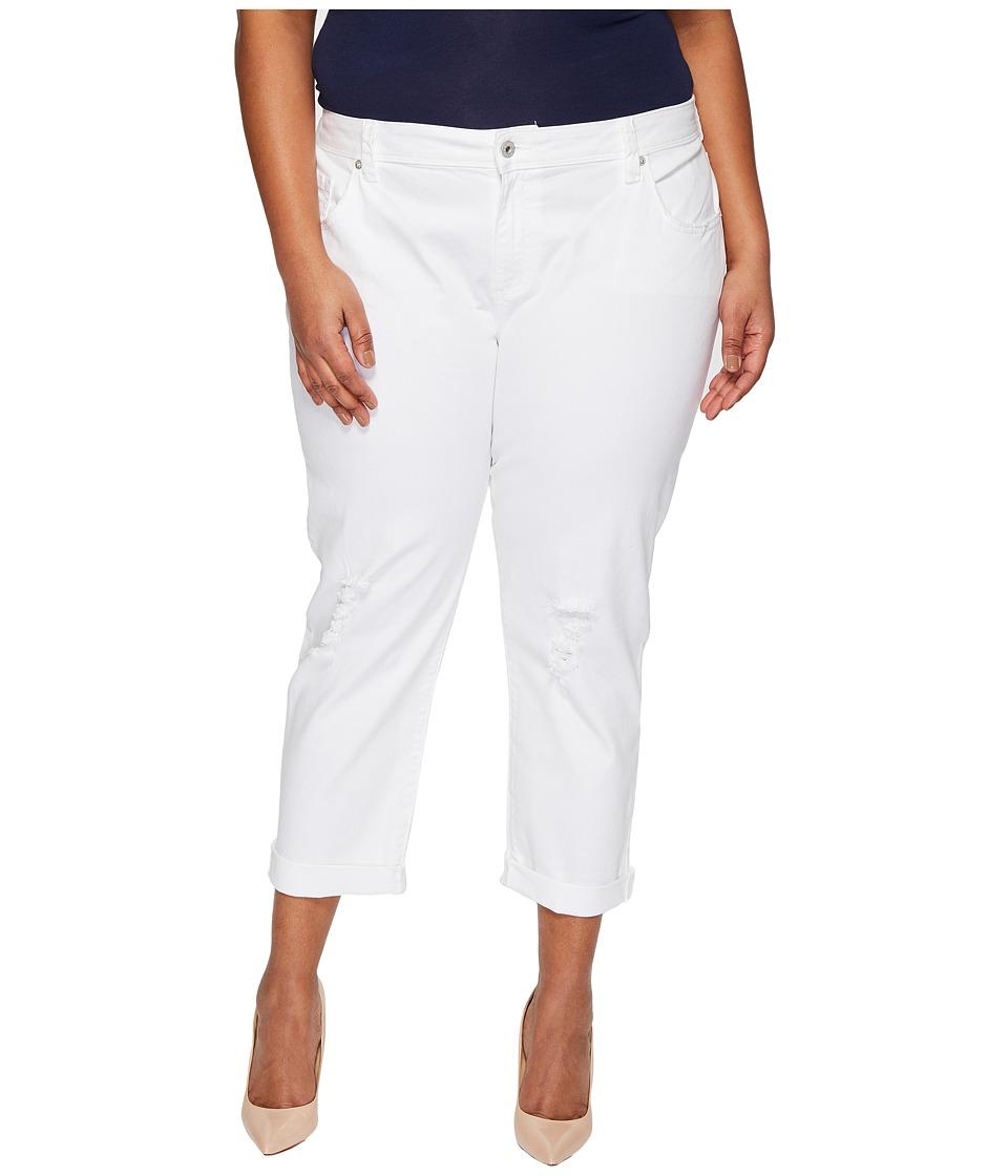 Lucky Brand Plus Size Reese Boyfriend Jeans in Rockdale (Rockdale) Women