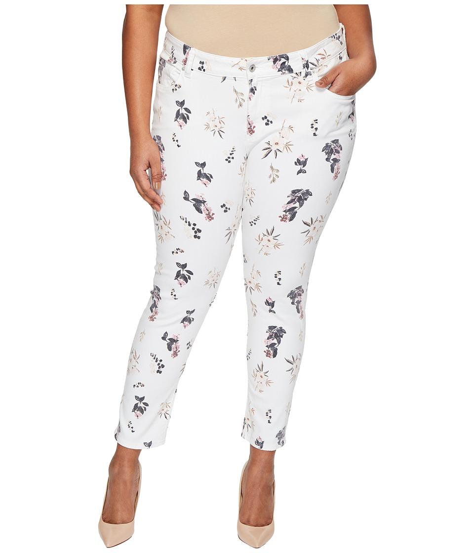 Lucky Brand - Plus Size Ginger Skinny Jeans in Botanical Toss (Botanical Toss) Women's Jeans