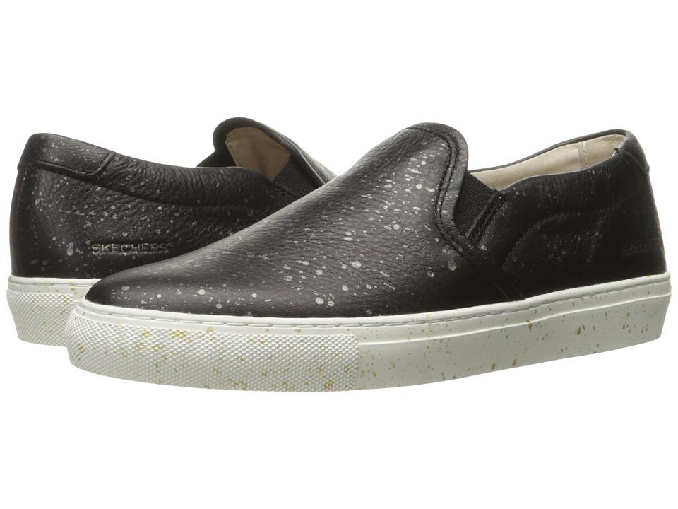 SKECHERS - Vaso Gemelo - Twin Gore Slip-On (Black) Women's Shoes
