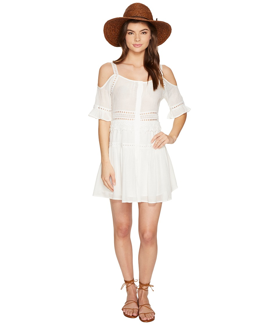 BB Dakota - Marla Cold Shoulder Dress (Ivory) Women's Dress